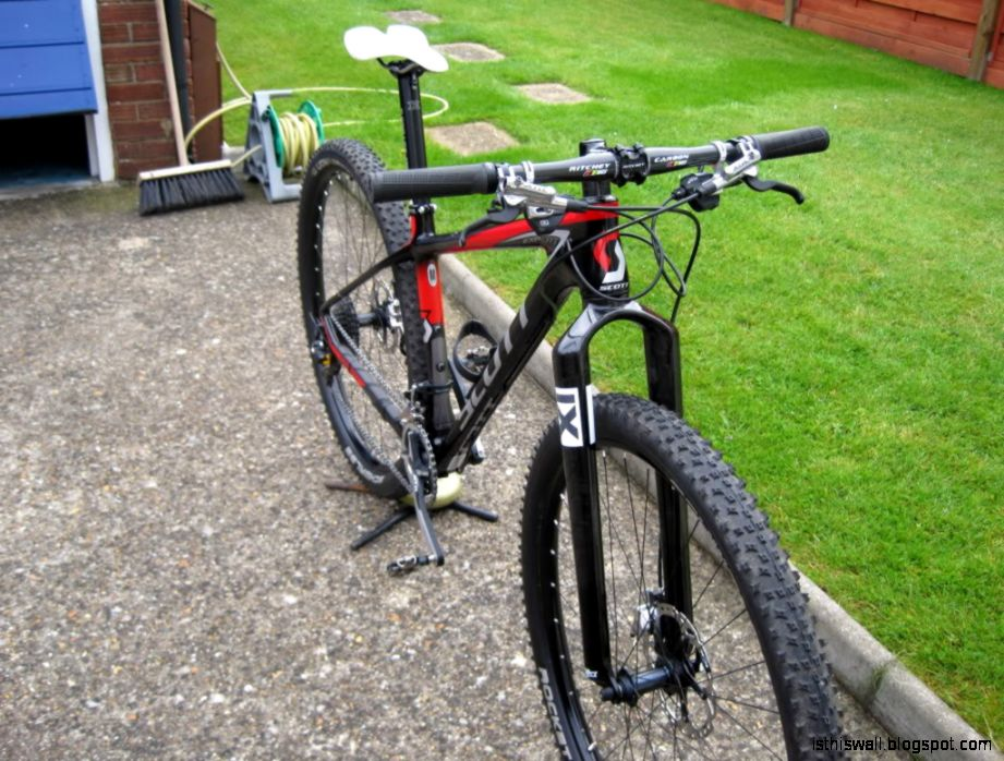 Mountain Bike with Rigid Forks
