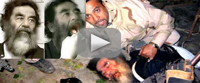 Video Reviven La Captura De Saddam Hussein Al Cumplirse A Os