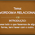 Mensagem: 'MORDOMIA RELACIONAL', Domingo 13/10/13 - [.ppt]