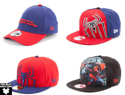 The Amazing Spider-Man New Era Hat Collection - Spider-Man Fitted Caps and Snapbacks