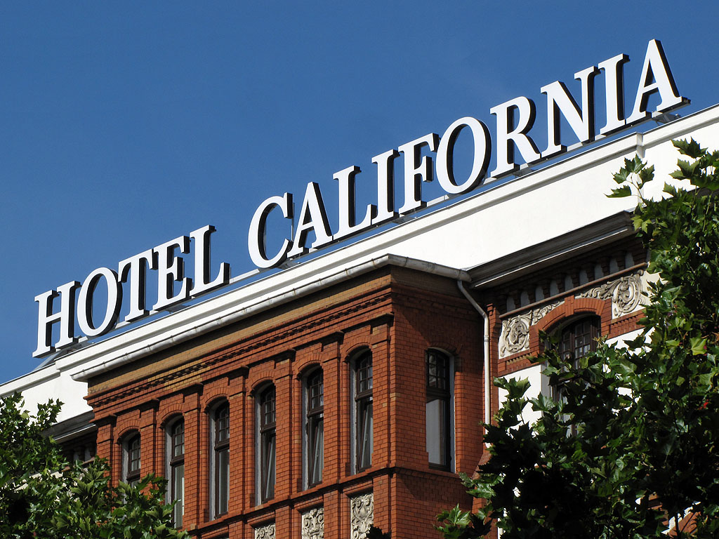 Daily photo stream hotel california for Hotel california