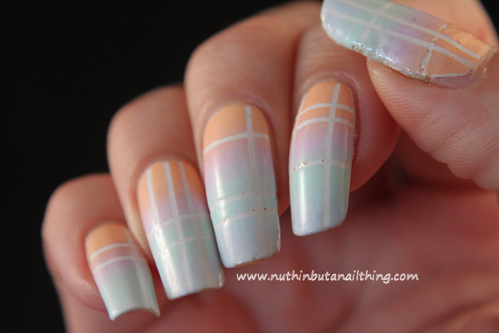 Models Own Fruit Pastel Gradient Nail Art