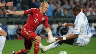 Marsiglia Bayern Monaco 0-2 highlights sky
