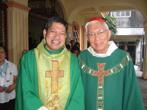 Together with Rt. Bp. Gaudencio Cardinal Rosales, DD