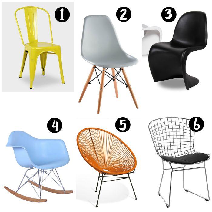Una pizca de hogar c mo combinar sillas diferentes en tu comedor - Una silla para ...