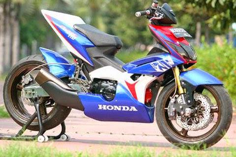 Modifikasi Honda Blade Terbaru