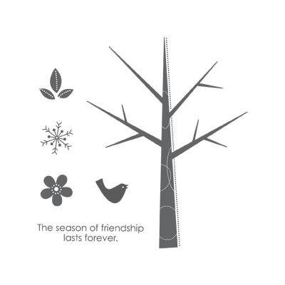 113 Best Seasons of Friendship Stamp Set images | Cards ...