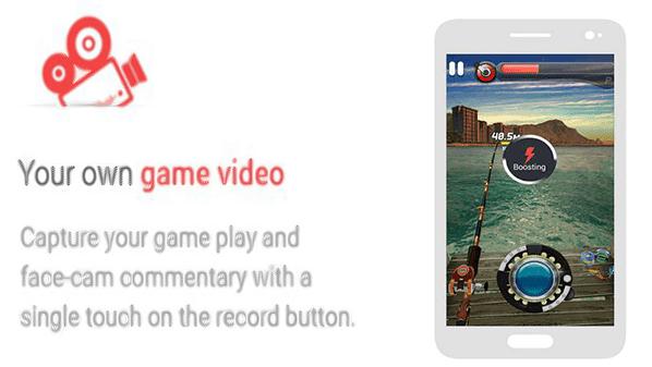 تطبيق يمكنك من تسجيل الألعاب بالفيديو على نظام أندرويد