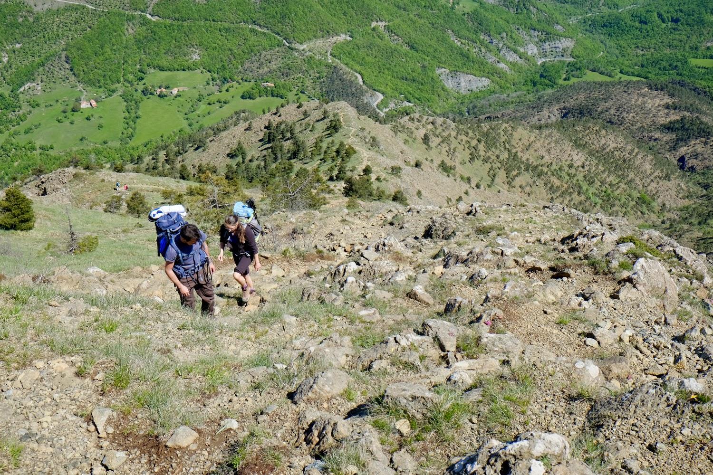 Salita al Monte Tobbio
