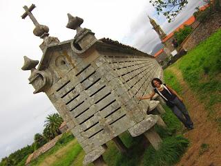 Horreo de Carnota in Galicia