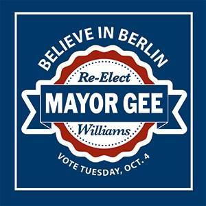 Re-Elect Mayor Gee Wiiliams
