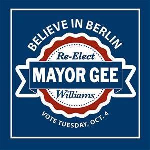 Re-Elect Mayor Gee Wiiliams