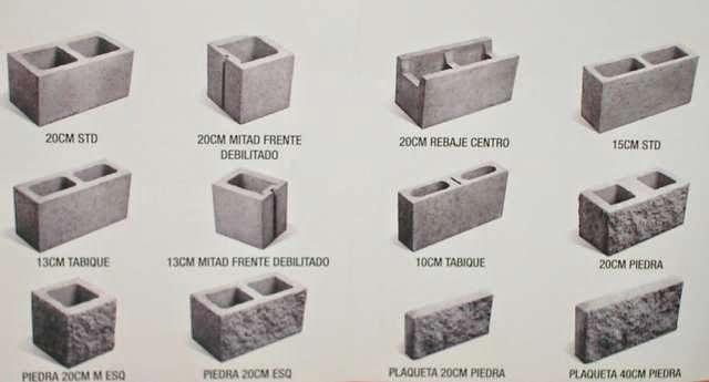Bloques de cemento industrializaci n for Bloques de hormigon medidas