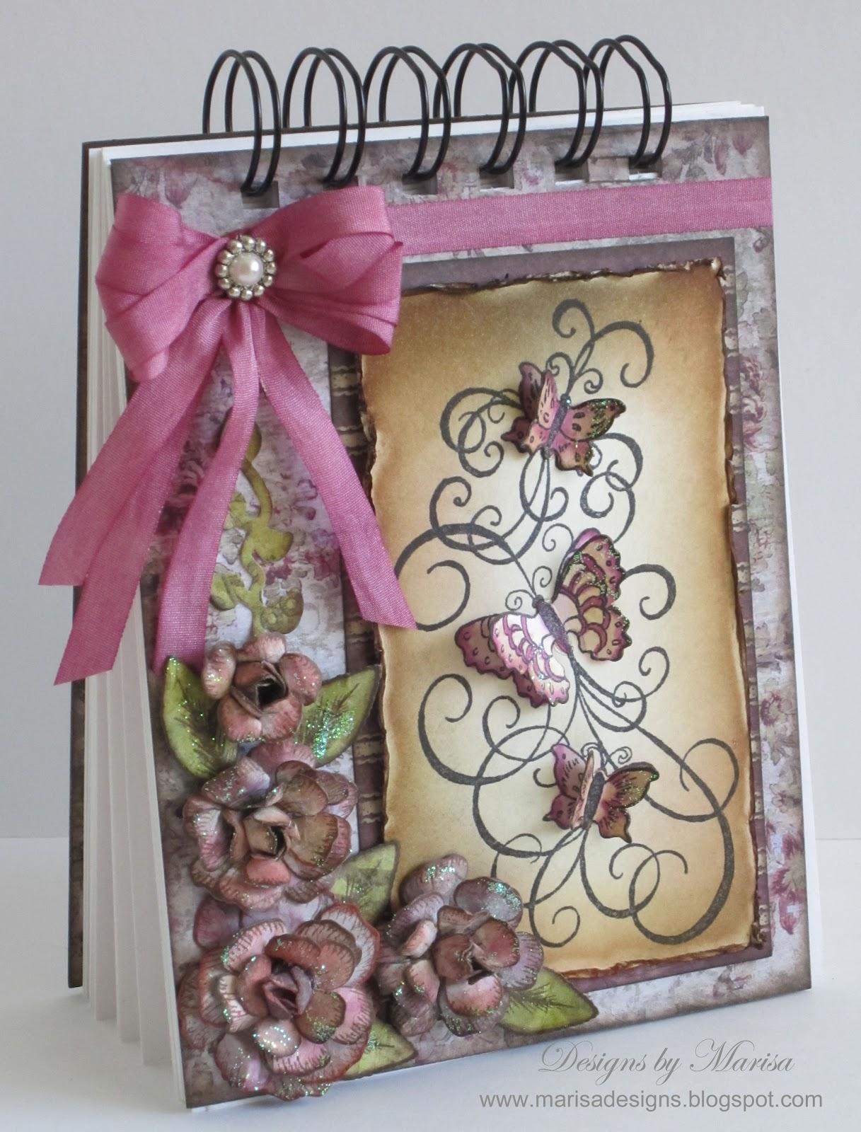 Designs By Marisa Heartfelt Creations Butterfly Swirl