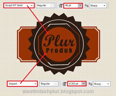 Cara Membuat Stiker Label Di Photoshop