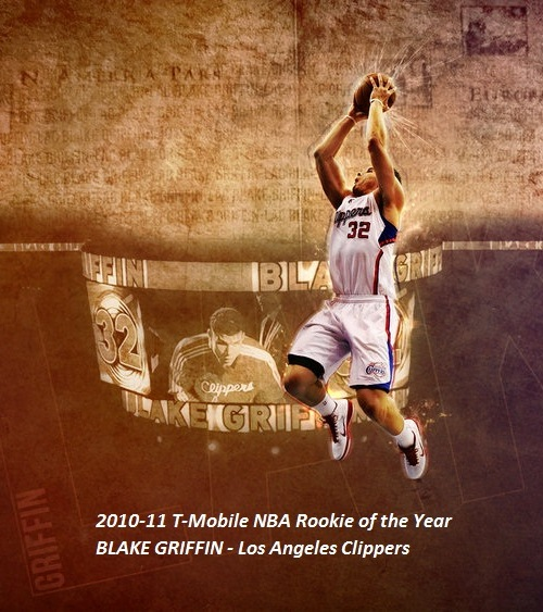 Beauty Babes: Blake Griffin 2010-11 T-Mobile NBA Rookie Of