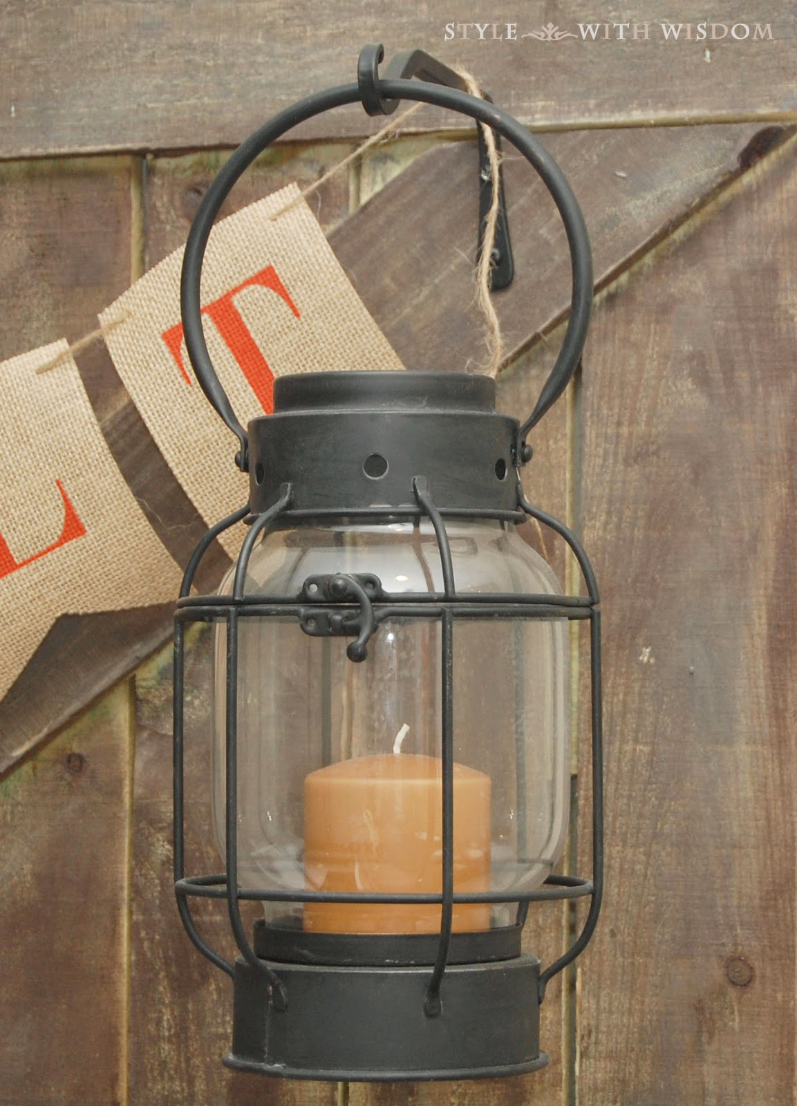 Woodland Nursery lanterns