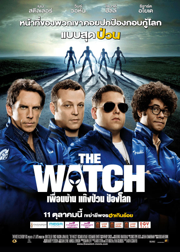 The Watch Movie Poster Wise Kwai's Bangkok Ci...