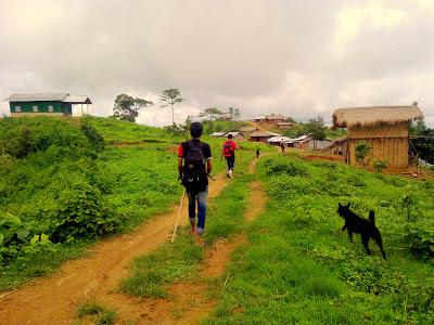 During Trekking.