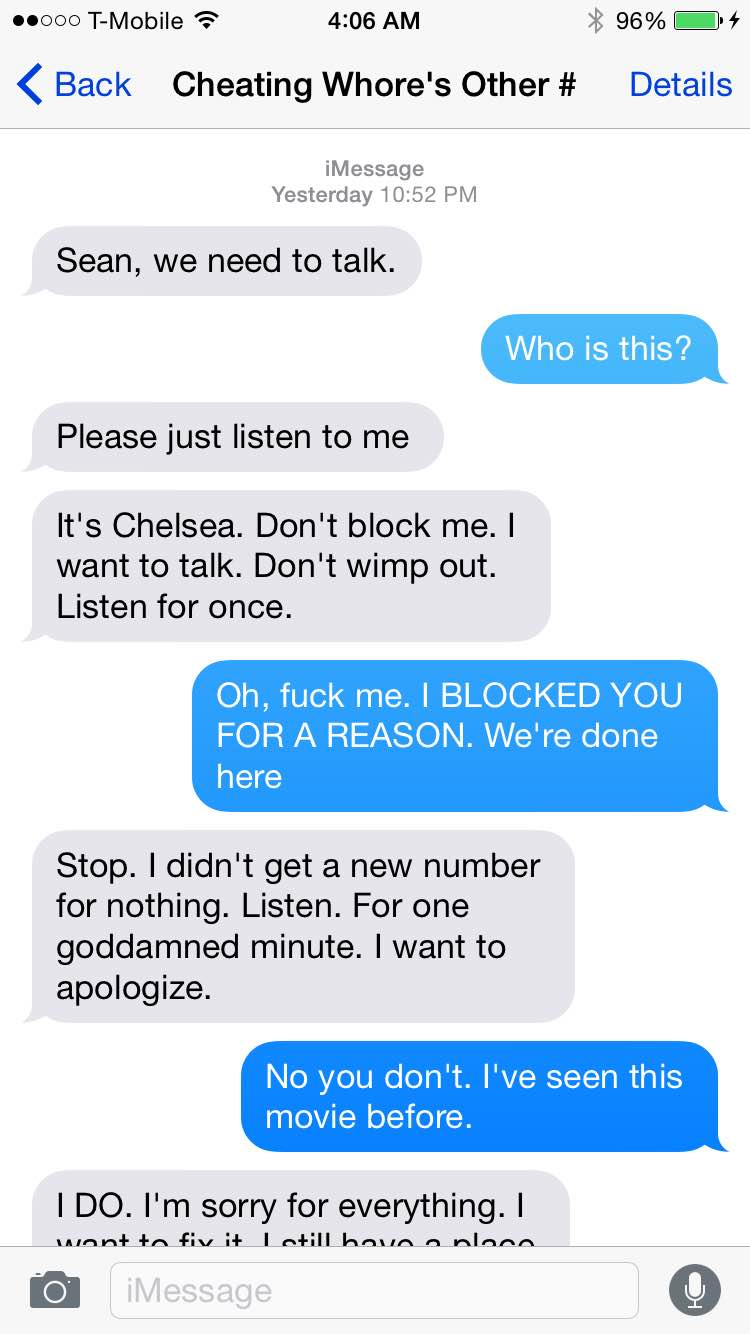 See Now: How A Guy Handled The Situation When His Exgirlfriend Harassed Him  With Texts