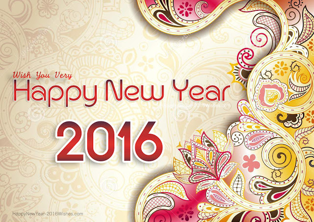 Happy New Year 2016 Mobiles Hd Wallpapers