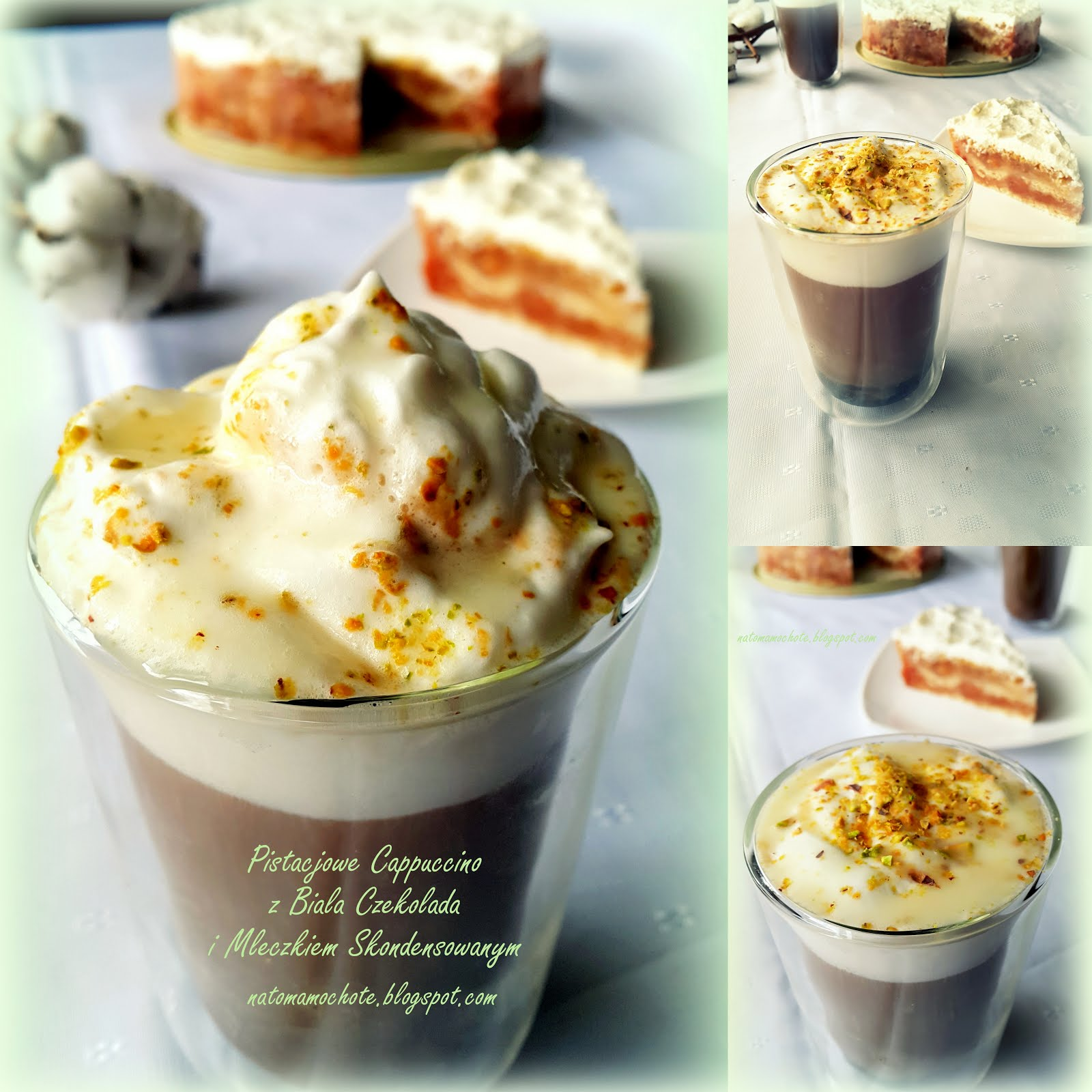 Pistacjowe Cappuccino