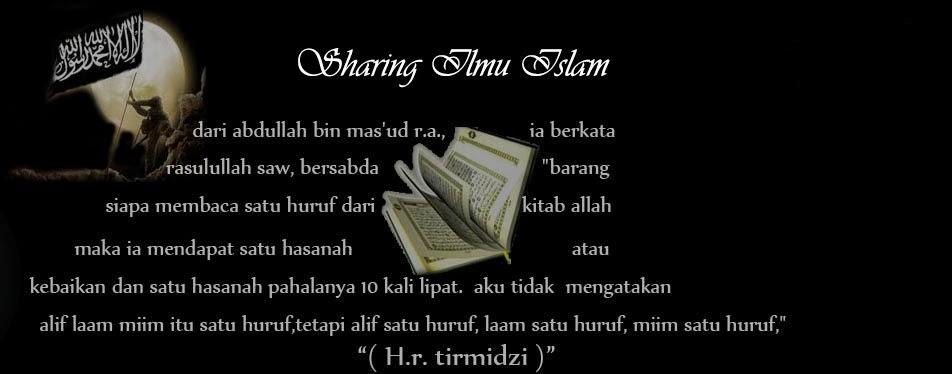 sharing ilmu islam