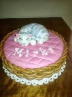 Torta mačiatko
