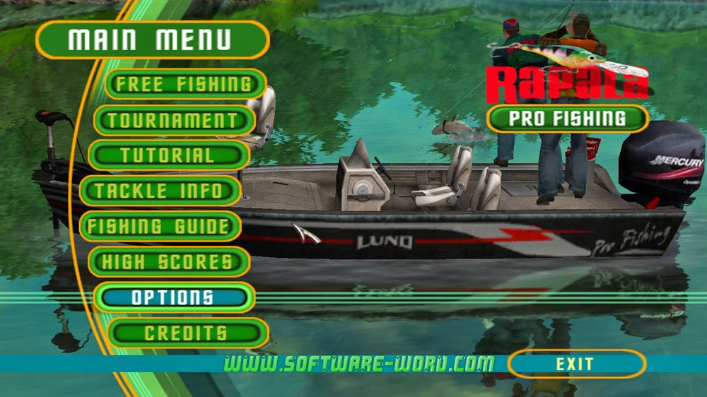 Rapala pro fishing game memancing for pc blbhome for Fishing computer game