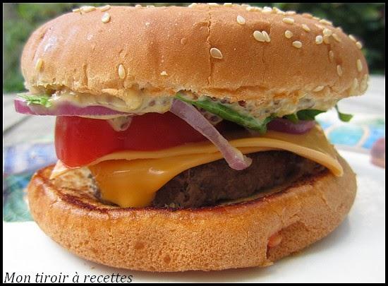 Connu Mon tiroir à recettes - Blog de cuisine: Hamburger Royal Deluxe DL38
