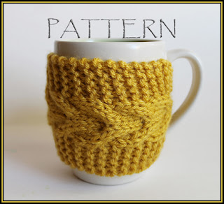 Free Knitting Pattern Coffee Cup Sleeve : KNIT COFFEE CUP SLEEVE PATTERN 1000 Free Patterns