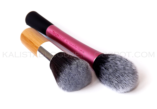 Fashion 11PCS Bamboo Handle Soft Makeup Brushes and Real Techniques Blush Brush