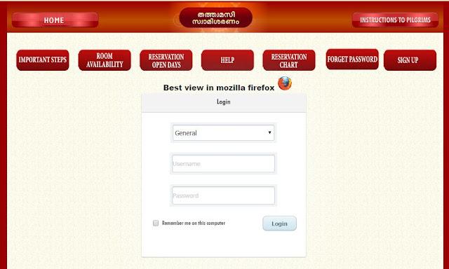 Online Sabarimala booking