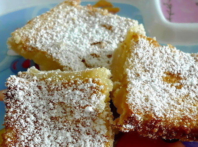 SWEET AS SUGAR COOKIES: Lemon Square Bars