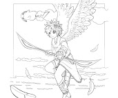#20 Pit Coloring Page