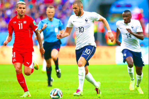 Prancis Bantai Honduras 5-2