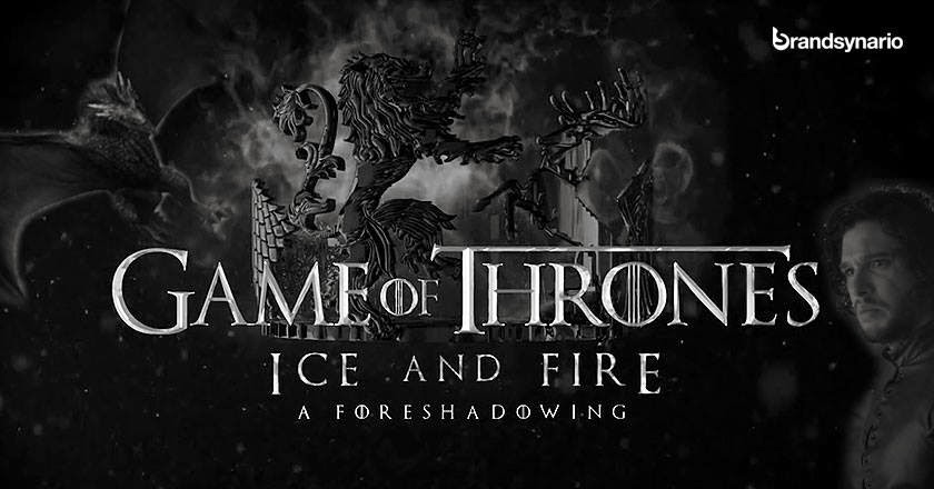 Game+of+Thrones Ice+and+Fire+A+Foreshadowing