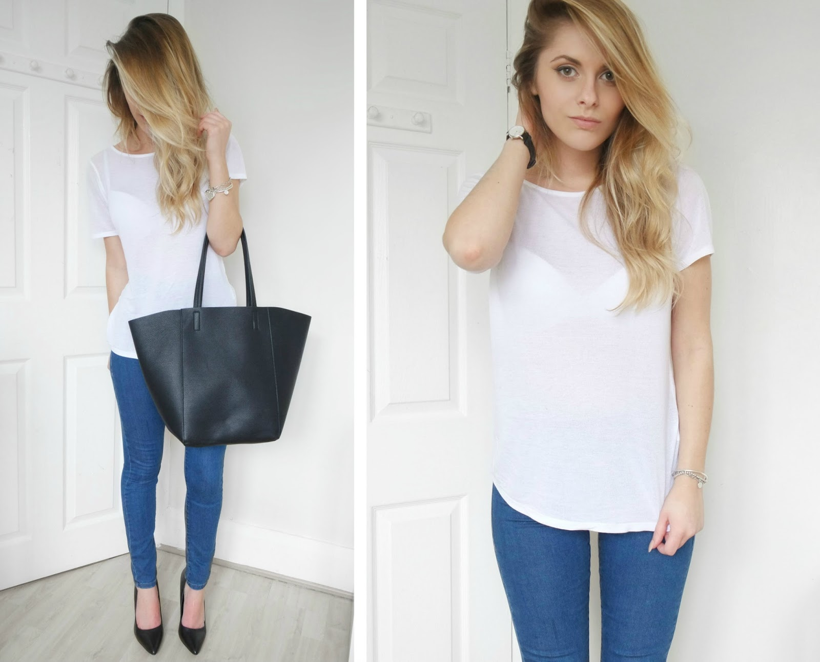 BLUE JEANS, WHITE SHIRT | Fashion Influx