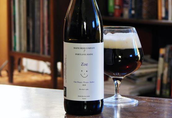 Maine Beer Zoe Amber Ale