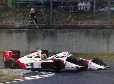 GP do Japão de Formula 1, Suzuka, em 1989 - corridasf1.blogspot.com