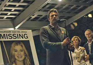 Ben Affleck and Rosamund Pike (pictured) in Gone Girl