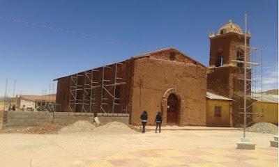 Kirchen Renovierung in San Pablo de Lipez