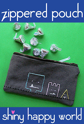 Free Sewing Pattern Zipper Pouch