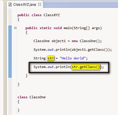 how to call a method in java using object