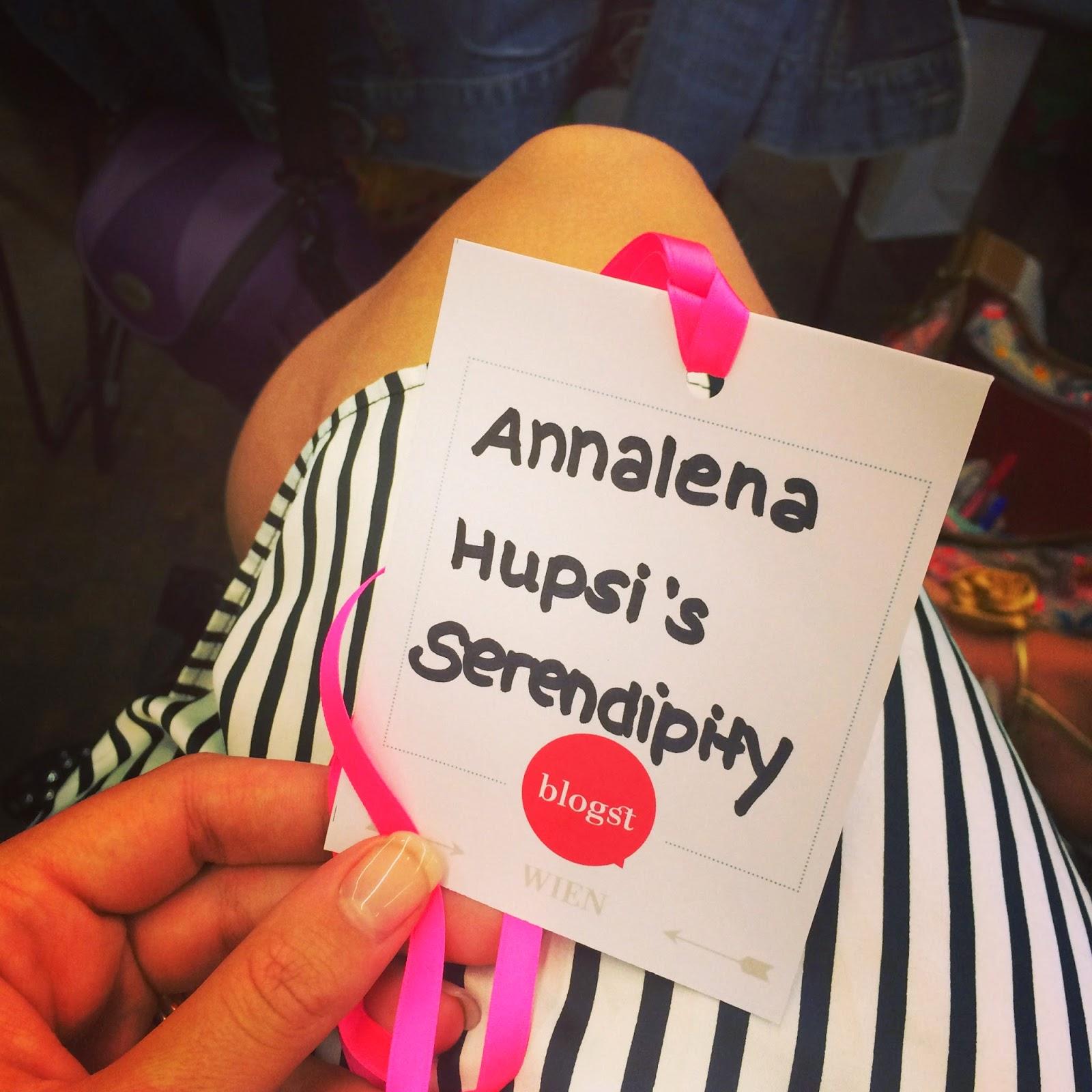 Mini Blogst Wien 2014 Hupsis Serendipity 25hours Vienna Blogger Lifestyle Travel