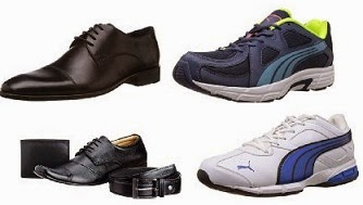 Flat 50% Off or more on Men's Formal Shoes and Sports Shoes