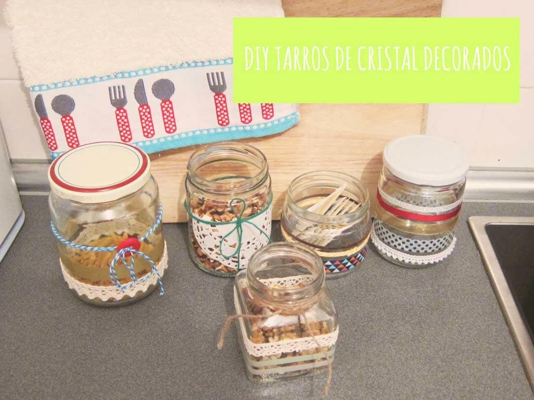 Diy decorar tarros de cristal geometr as recortables for Tarros de cristal vintage