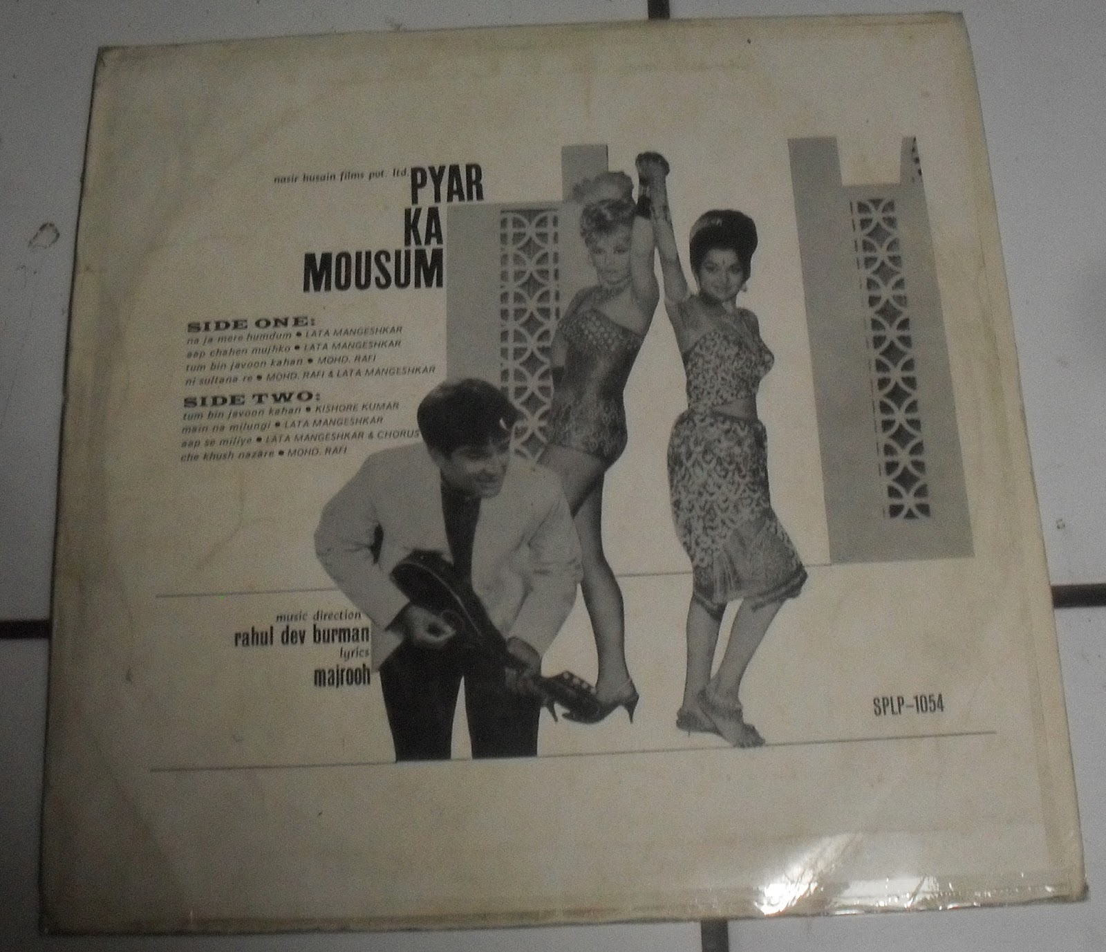 here s an album from r d burman and this one came out in 1969
