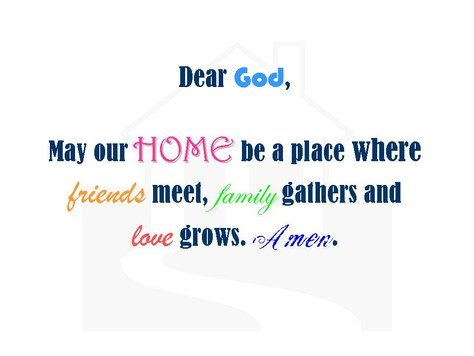 Building my dream house friday quotes prayer for my home for Home construction quotes
