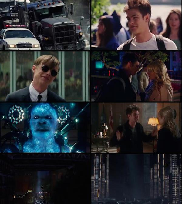 The Amazing Spider Man 2 (2014) Dual Audio Hindi BRRip 480p